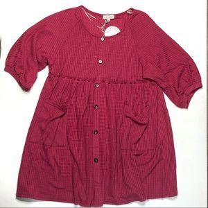 UMgee babydoll dress NWT